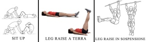 sit up leg raise