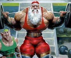 Santa-Squat